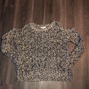 Women's Cold Shoulder BB Dakota sweater